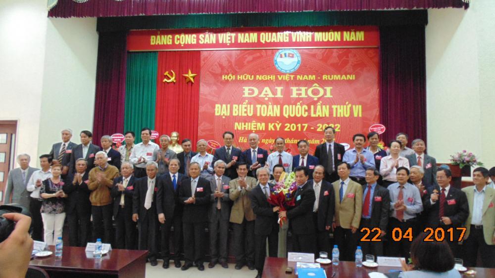 BAN CHẤP HÀNH HỘI HN VIỆT NAM- RUMANI NHIỆM KỲ VI (2017-2022)